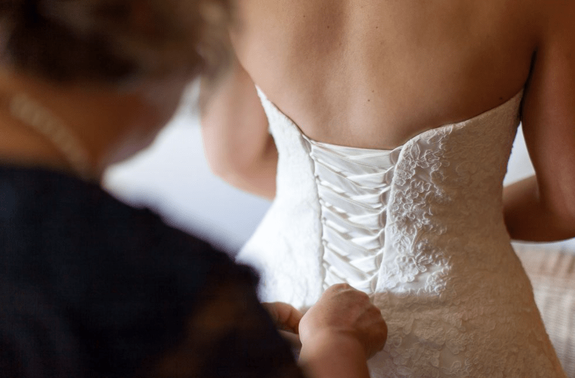 what to do with your old wedding dress