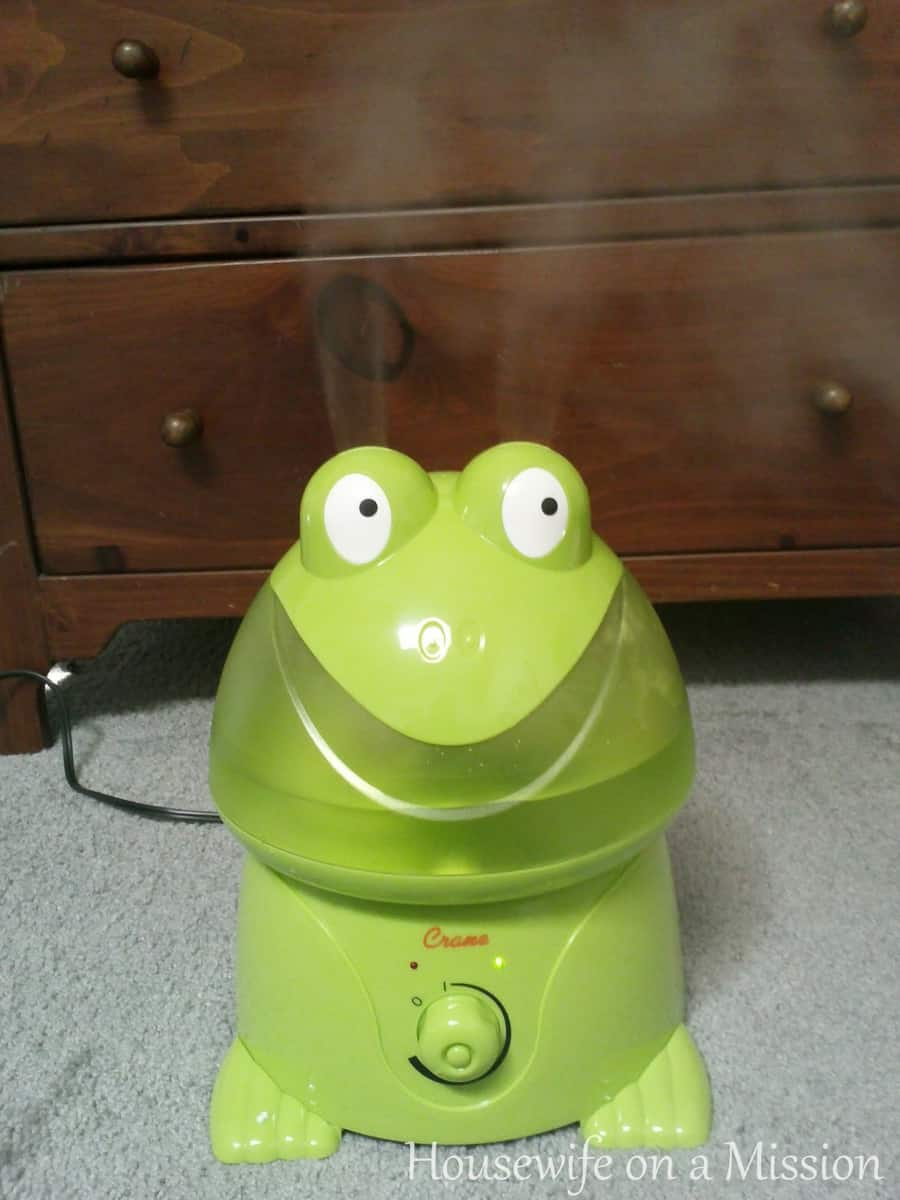 freddy the frog cool mist humidifier thrifty nifty mommy rh thriftyniftymommy com crane ultrasonic cool mist humidifier - frog manual crane frog humidifier user manual