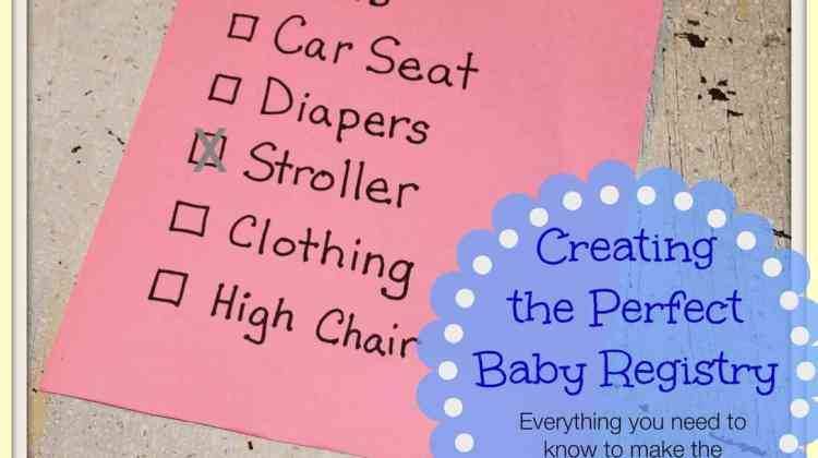 Creating the Perfect Baby Registry ~ It's Easy at Walmart.com #Sponsored #PlanningForBaby