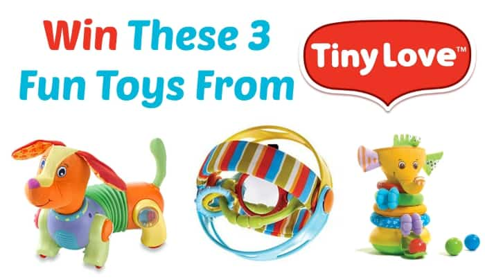 Fun and Educational Tiny Love Toys Review {Plus a Giveaway!}