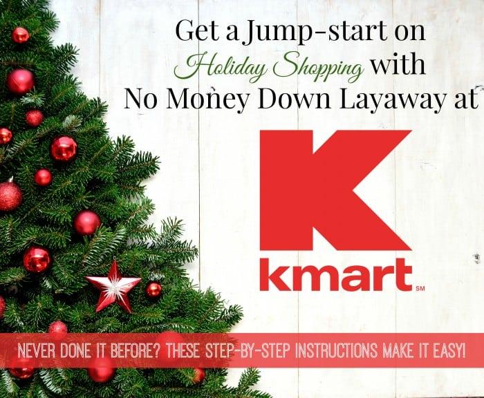 layaway at kmart