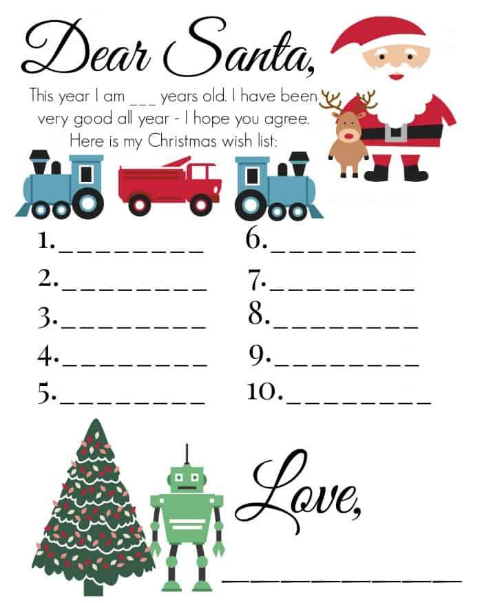 Christmas Wish List 5
