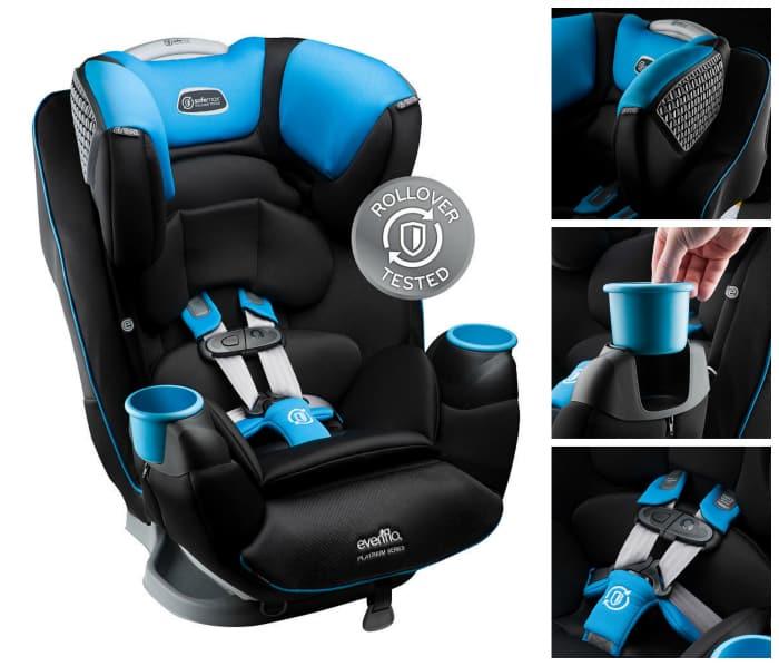 Evenflo Platinum SafeMax All-In-One Car Seat