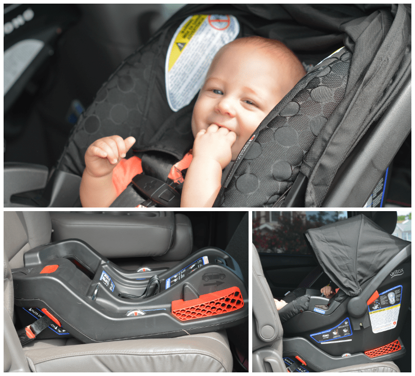 Britax B-Agile 3/B-Safe 35 Travel System Review - Thrifty Nifty Mommy