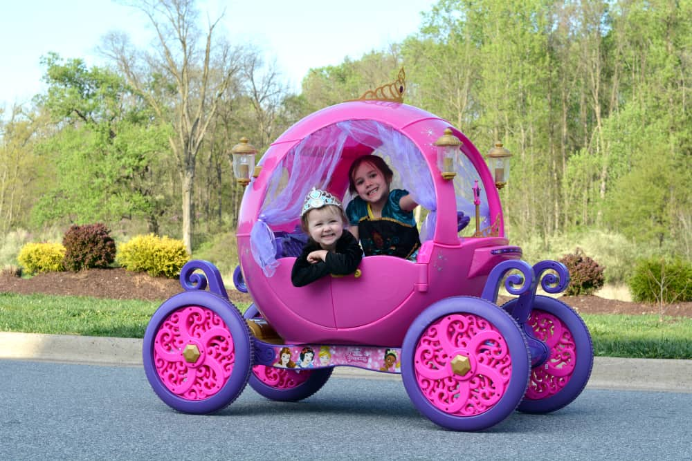 Disney Princess Carriage Girls