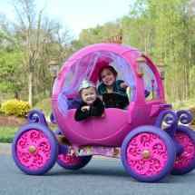 Disney Princess Carriage Girls