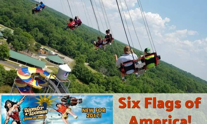 New This Year At Six Flags America – Wonder Woman The Lasso Of Truth!