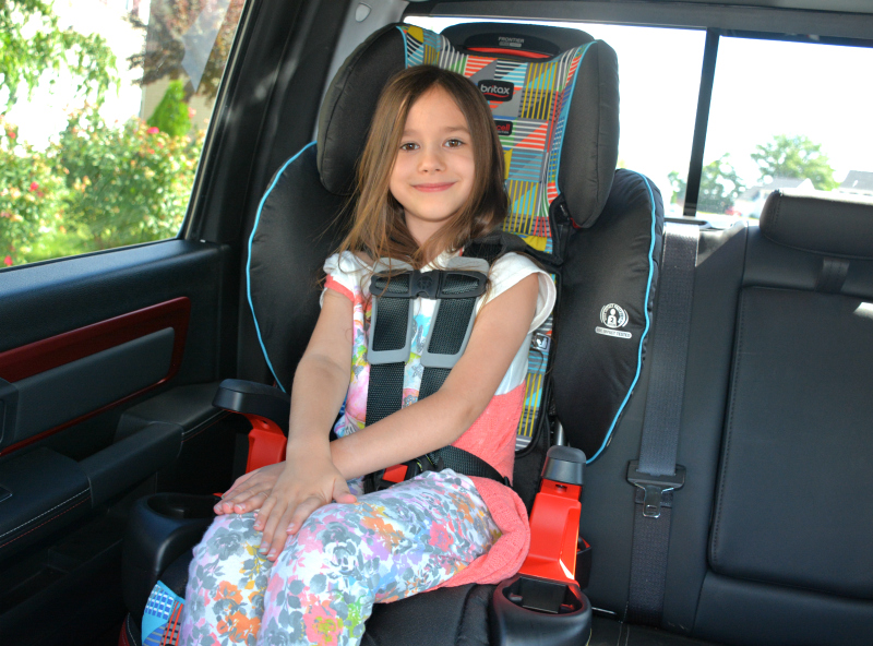 We Have Been Using The Seat With 5 Point Harness For Both Our Year Old And 7 They Find It To Be Very Comfortable Love
