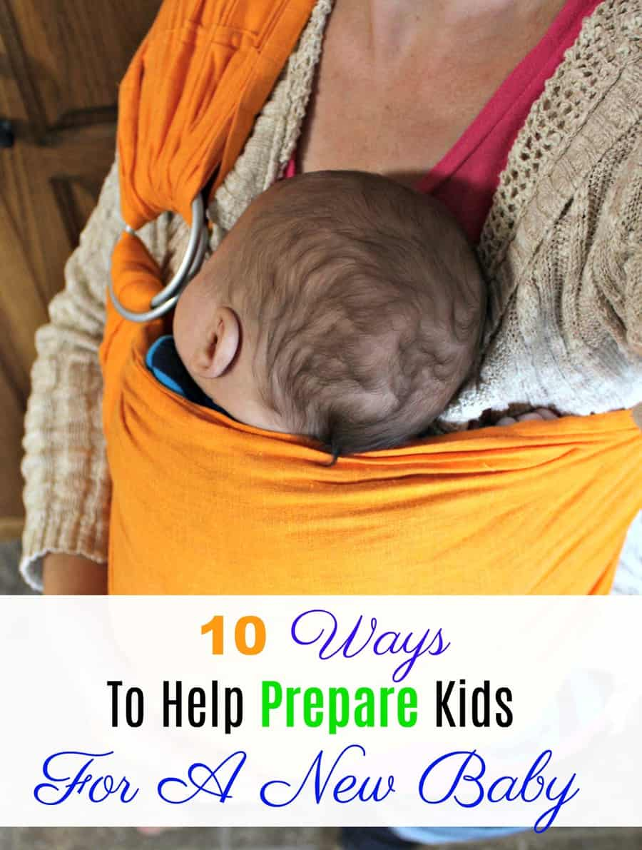 10 Ways To Help Prepare Kids For A New Baby