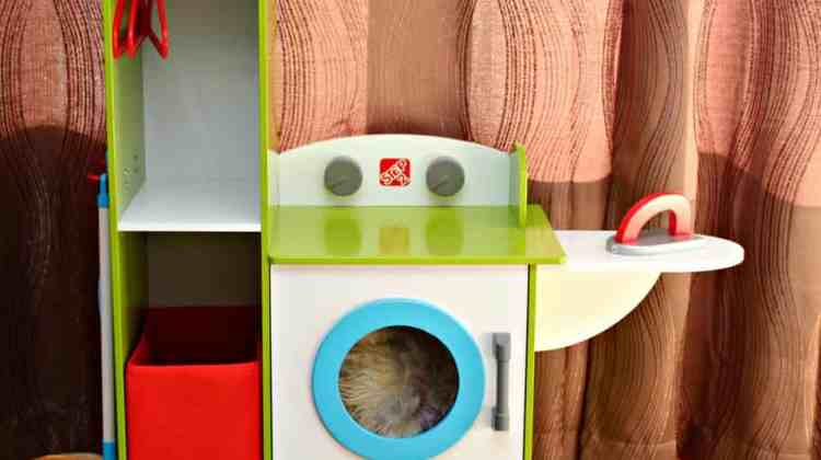 Step2 Clean Sweep Wood Laundry Center {+ Giveaway!}