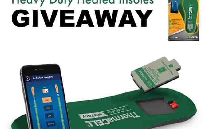 WIN a Pair of ThermaCELL ProFLEX Heavy Duty Heated Insoles ($199 Value!)