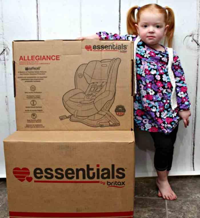 Essentials By Britax Allegiance Car Seat {Review}