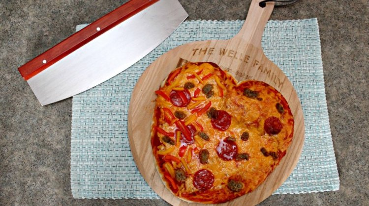 Enjoy Heart Shaped Pizza This Valentine's Day