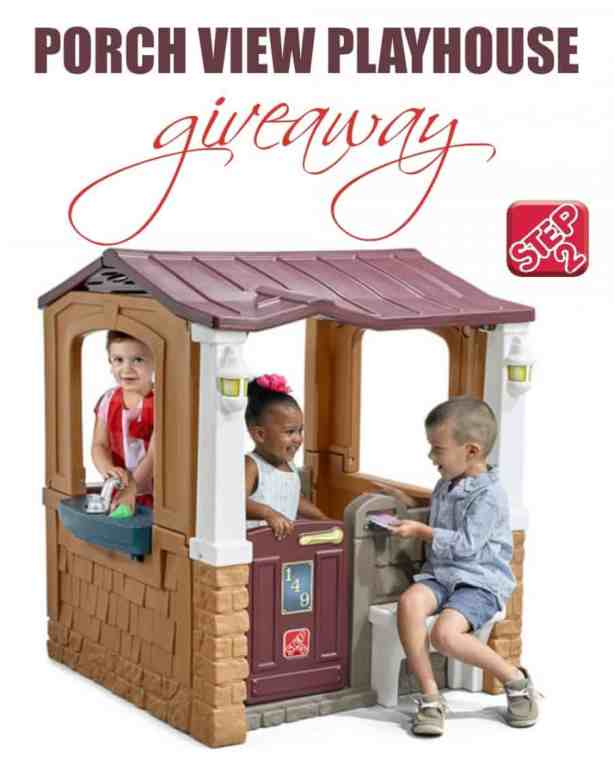 6 Benefits Of A Playhouse - There are so many great reasons why choosing a playhouse for your kids makes a great investment. Check out 6 of them today! + Step2 Porch View Playhouse Review & Giveaway