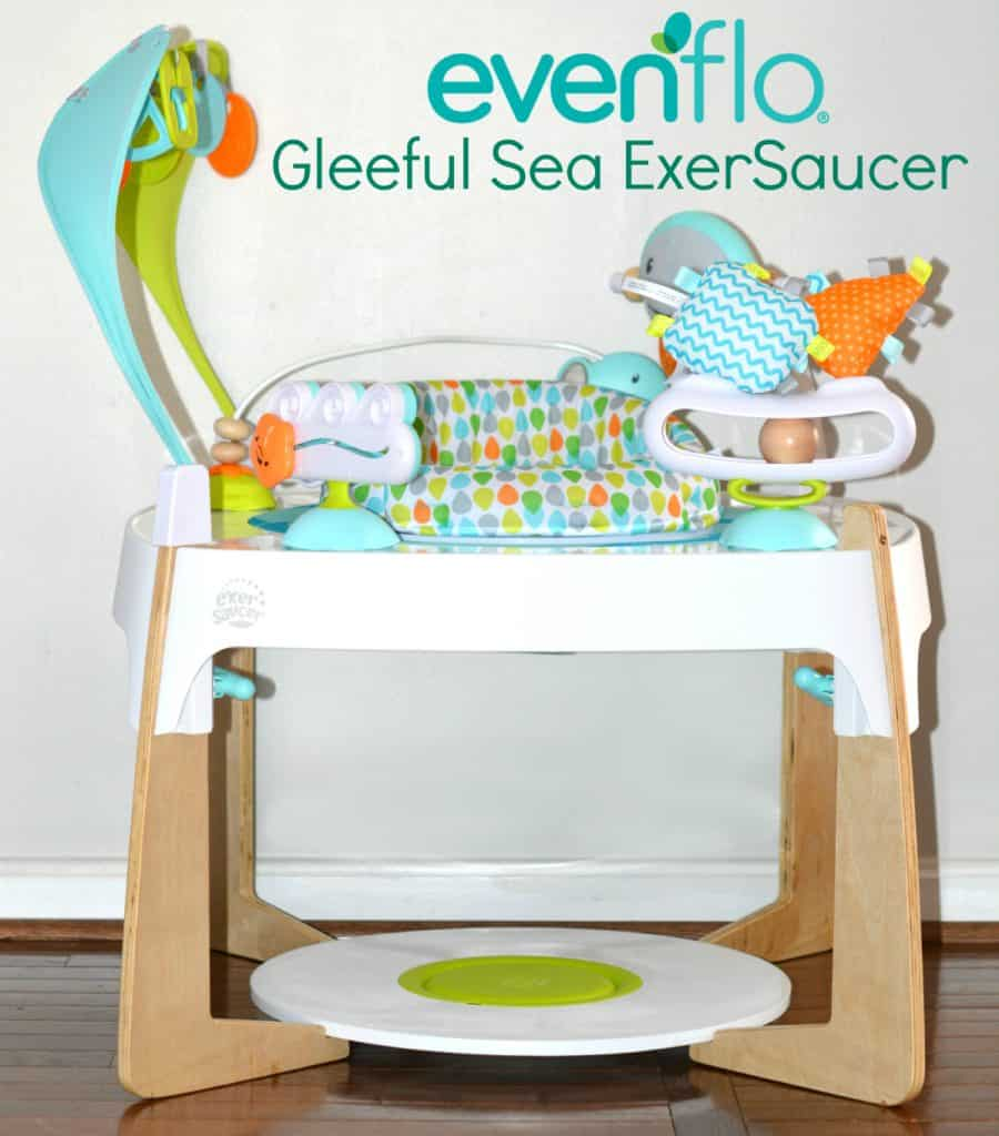 Evenflo Gleeful Sea Exersaucer Review Thrifty Nifty Mommy