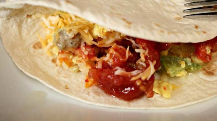 Hungry? Make This Breakfast Skillet Burritos Recipe