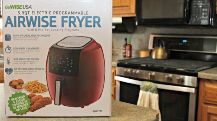 GoWISE Air Fryer ~ Perfect For Meals, Snacks, & Dessert!