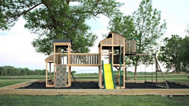 Ultimate Backyard With Backyard Discovery Grand Escape