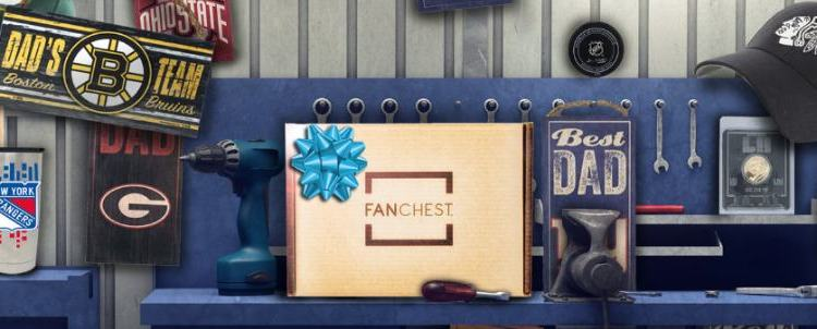 FANCHEST – Sports Box For Dad & Baby This Father's Day {+ Giveaway}