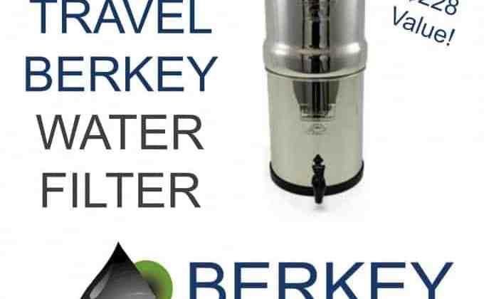 WIN a Travel Berkey Water Purification System!