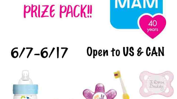 Win a $50 MAM Prize Package!