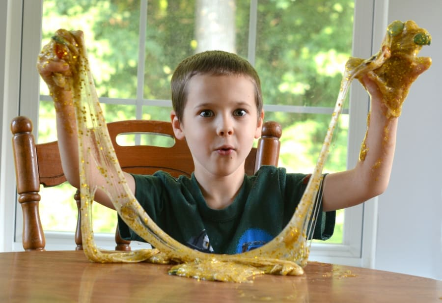 King Tut's Treasure Mess Free Slime