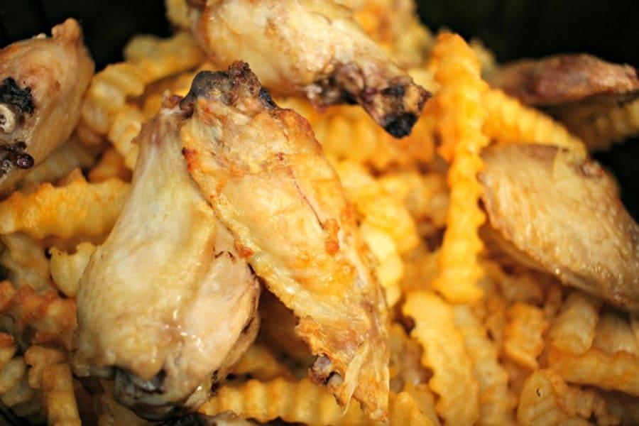 Air Fryer Sriracha Honey BBQ Chicken Recipe