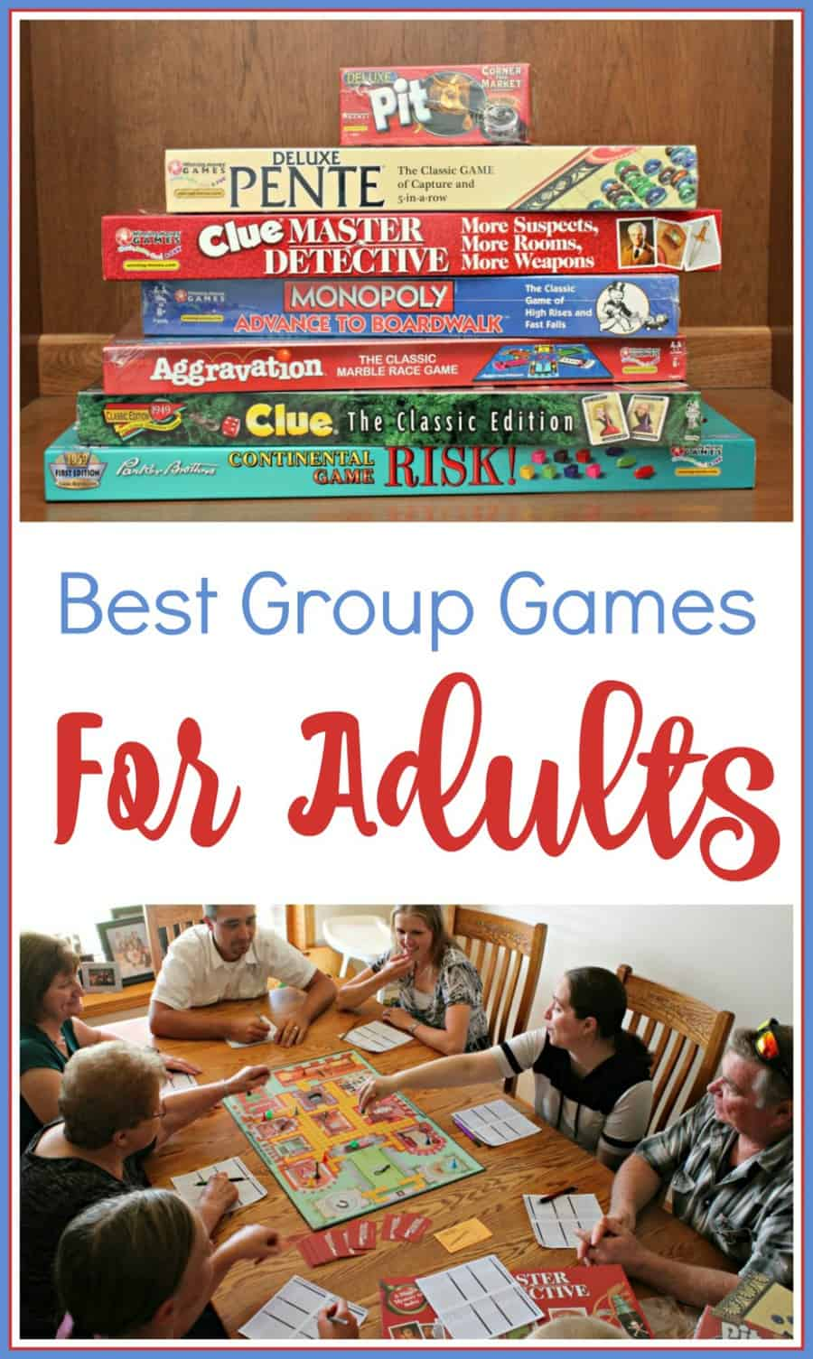 Best Group Games For Adults (Winning Moves Games)