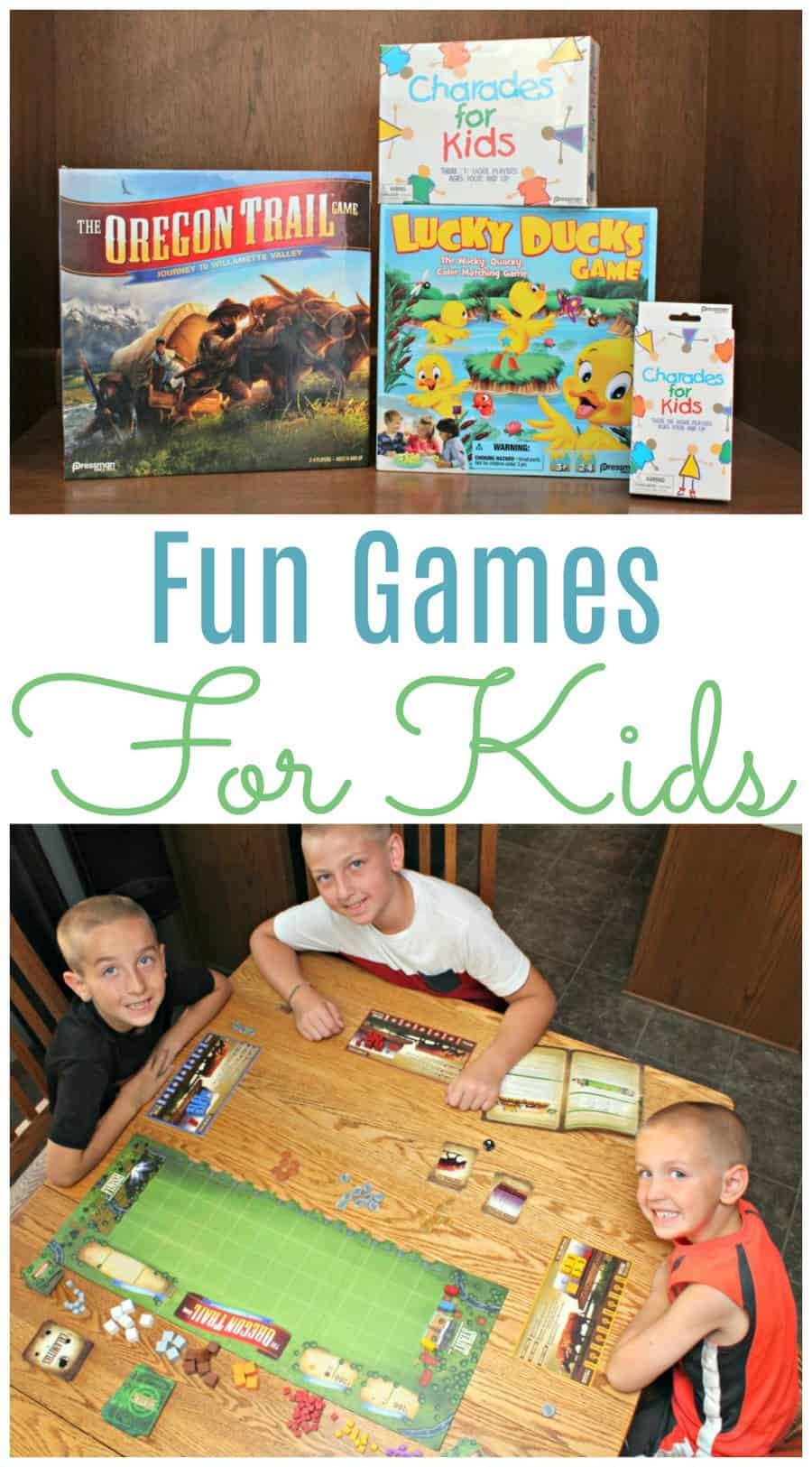 Fun Games For Kids By Pressman Toy Co.