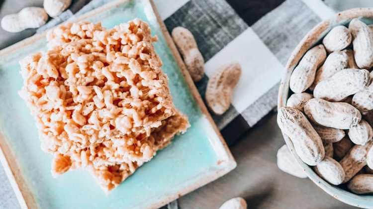 Peanut Butter Krispy Treats Recipe
