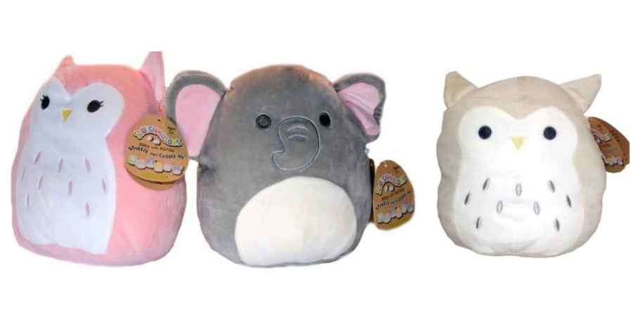 Squishmallow Baby Rattles