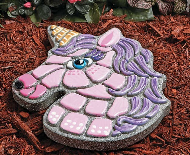 Mindware Paint Your Own Unicorn Stepping Stone