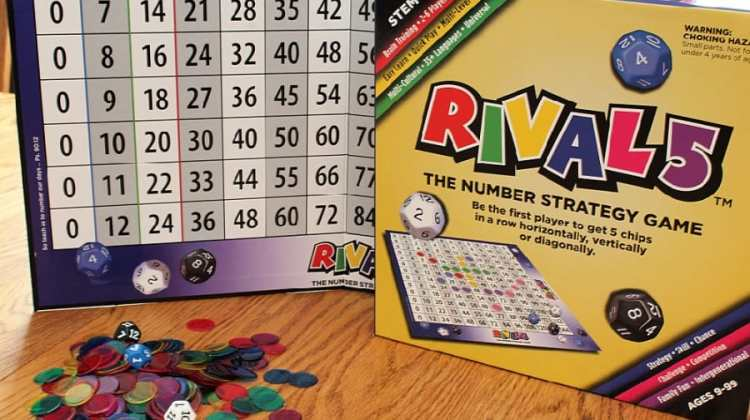 RIVAL 5 Educational Number Strategy Game Review {+ Giveaway}