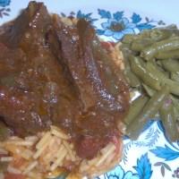 Crock Pot Spanish Steak