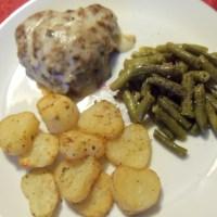 Heart Shaped Mini Meat-loaves