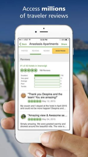 TripAdvisor: Find reviews on attractions and restaurants