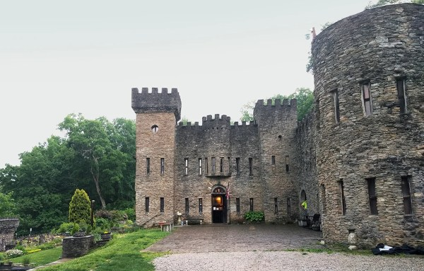 Visitors to Loveland Castle can learn all about its builder, Sir Harry, in exhibits throughout the building.
