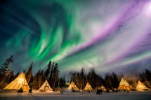 Places Northern Lights - Thrifty Nomads