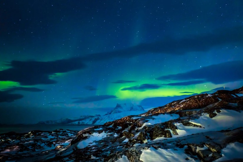Northern Lights Nuuk Greenland