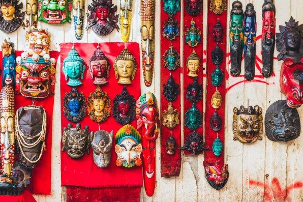 Nepales masks