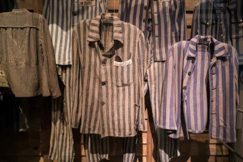 Auschwitz prisoner clothes
