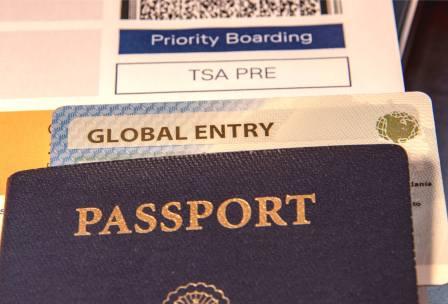 TSA global entry passport