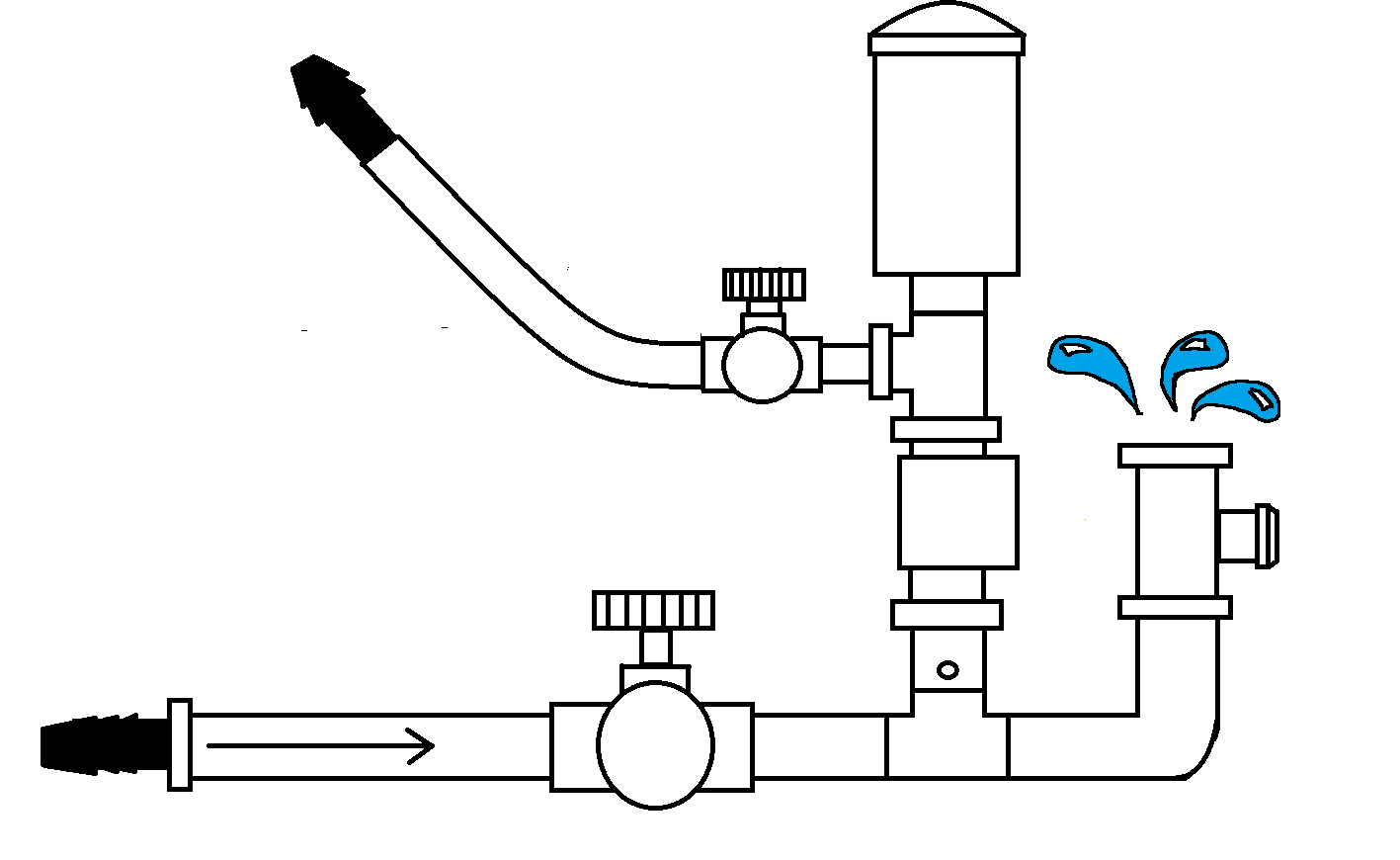 hight resolution of plain hydraulic ram design concept