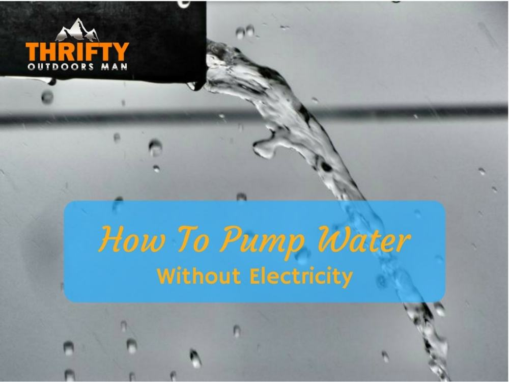 medium resolution of how to pump water without electricity