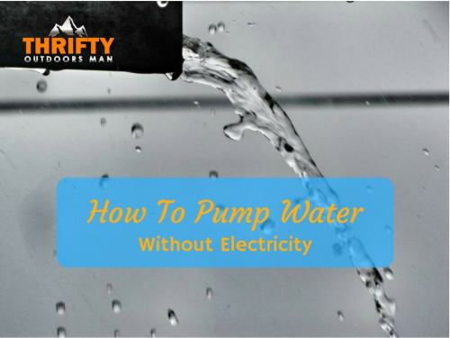 small resolution of how to pump water without electricity
