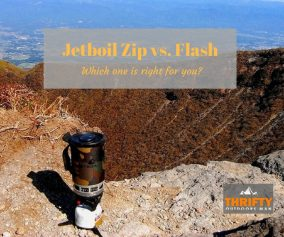 jetboil zip vs flash