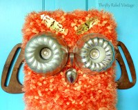 DIY Repurposed Owl Fall Door Decoration - Thrifty Rebel ...