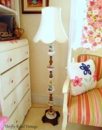 Fabulous Finds Friday: Vintage Bone China Roses Lamp ...