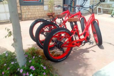 Bikes for hire, Santa Maria