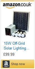 Solar power off grid lighting solution solar panel lighting